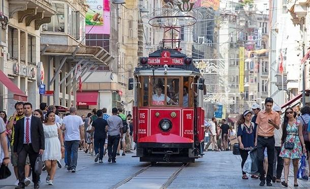 İstanbul'un gözdesi İstiklal Caddesi galerisi resim 1