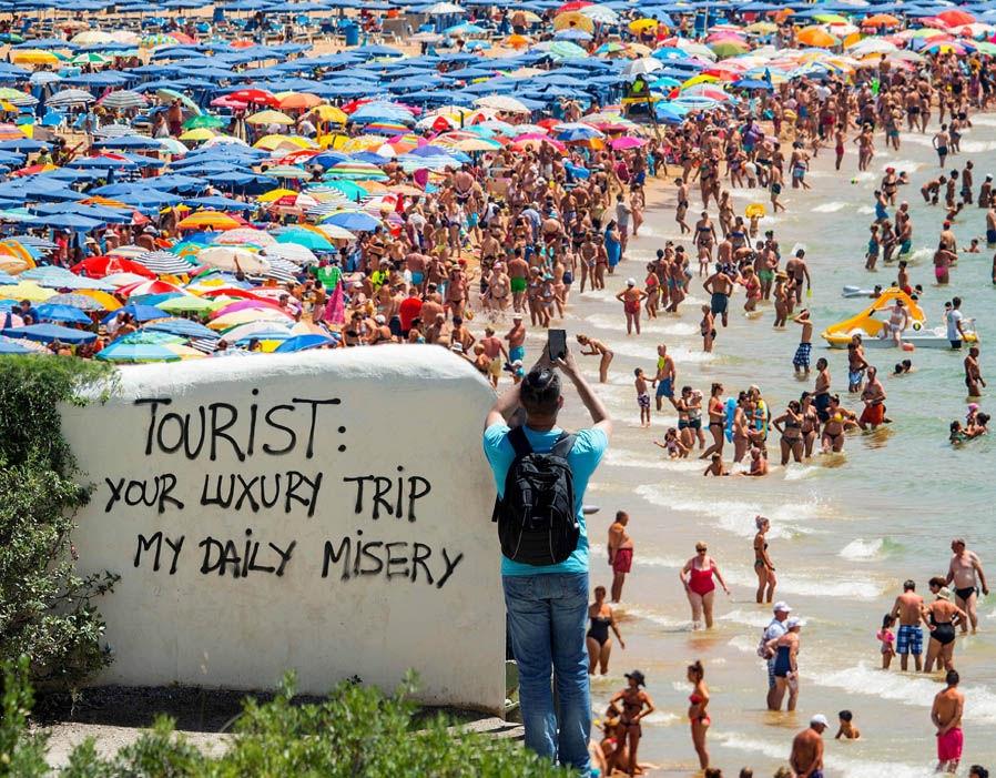 Avrupa'da anti-turizm kavramı büyüyor galerisi resim 1