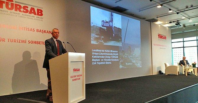 Prof. Dr. Şimşek: Laodikya'da hayallerimiz için çalışıyoruz