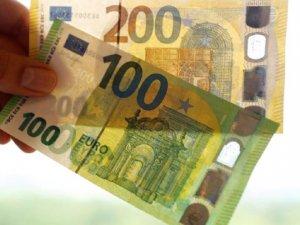 Yeni 100 ve 200 euroluk banknotlar tanıtıldı