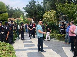 Avantgarde Resort Hotel'de deniz kapandı, turistler hapsedildi