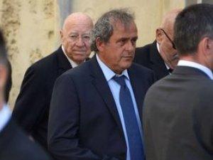 Michel Platini yolsuzluktan gözaltına alındı
