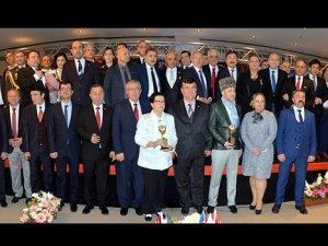 Uluslararası 15. İpekyolu Yılın Altın Adamları Ödülleri verildi