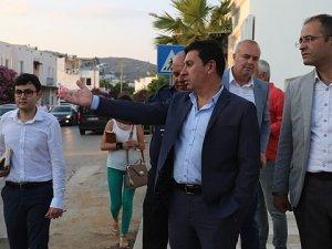 Bodrum'da Başkanı Ahmet Aras'tan esnafa işgaliye uyarısı