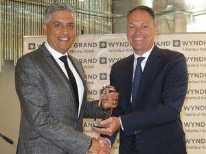 Wyndham Grand İstanbul Kalamış Marina Hotel'e 'en iyi' ödülü