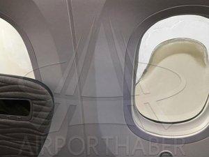 THY'nin yeni uçağı Dreamliner'ın camları eridi