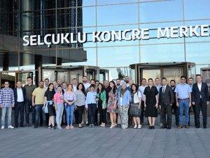 Selçuklu Kongre Merkezi, Konyalı turizmcileri buluşturdu