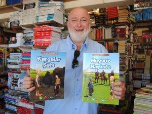 Turistlerin bıraktığı kitaplar yerleşik yabancılara veriliyor