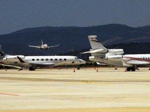 Kirası 35 bin TL: Uçakların biri iniyor, biri kalkıyor