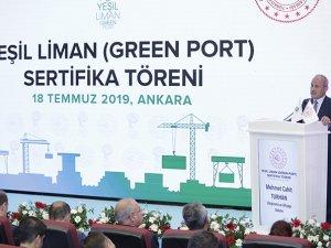 """Yeşil Liman Projesi"""" ile limanlar Yeşil Limana dönüştü"""
