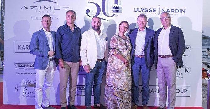 Yaz buluşmasında Azimut Benetti Group 50. yılını kutladı