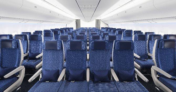 ANA, 12 Boeing 777-300ER'lerin koltuklarını yapılandırdı