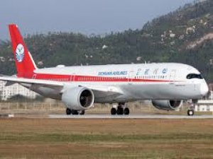 Sichuan Havayolları İstanbul'a A350 uçağıyla uçmaya başladı