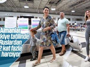 Türkiye'de en çok Almanlar para harcıyor