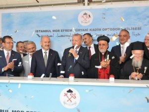 İmamoğlu ile Erdoğan temel atma töreninde buluştu!