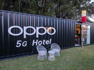 Akıllı telefonmarkasıOPPO dünyanın İlk 5G otelini açtı!