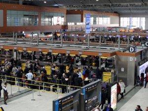 8 ayda hava yolu yolcu sayısı 140 milyonu aştı