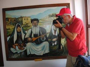 Side'de 4 ilahi din ve Alevilik tablolarla anlatılıyor