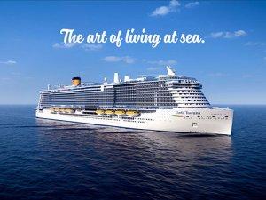 Costa Cruises filosunda Costa Smeralda'ya kardeş geliyor