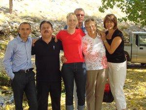 Avrupalı turist köyde horoz sesiyle uyanmak istiyor