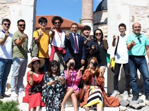 Güney Koreli turizm bloggerları Eskişehir'de