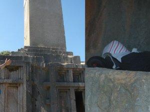 Unesco listesindekiXanthoskaya mezarlarıçöplük oldu