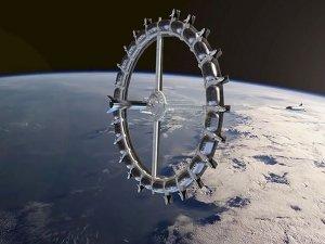 Haftada 100 turistin gideceği uzay oteli