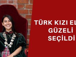 Türk kızı Melis Bilici 'Elma Güzeli' seçildi