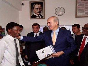 KurtulmuşSudan'da Kültür Bakanları toplantısında