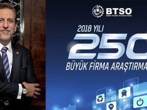 BTSO'da 'İlk 250 Büyük Firma' lideri Oyak Renault oldu