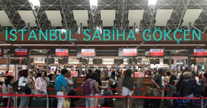 Sabiha Gökçen'i yaz aylarında10 milyon yolcu kullandı
