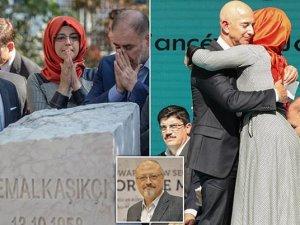 Öldürülen Cemal Kaşıkçı anısına İstanbul'da anıt açıldı