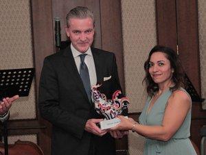 "Divan Grubu'nun CEO'su Richard Appealbaum'a ""Eurhodip Award"""