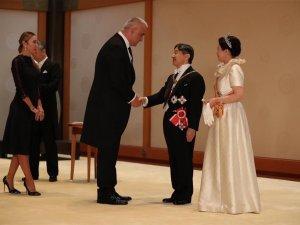 Bakan Ersoy, Japonya Taht Töreni'nde Türkiye'yi temsil etti