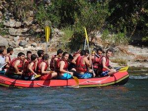 Raftingte, Arap turistlerde yüzde10'luk artış oldu