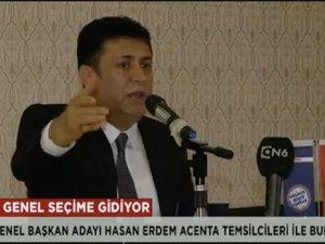 Türsab Başkan Adayı Hasan Erdem: Türsab TV'de tuzak kurdular