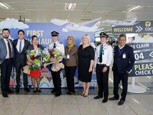 İstanbul Sabiha Gökçen'de ilk 'uzun mesafeli uçuş' başladı