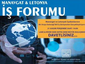 Letonyalı işadamları işbirliği için Manavgat'a geliyor