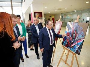 Ukraynalı Ressam Mykola Strus'un sergisi Büyükşehir'deaçıldı
