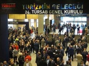 Heyecan dorukta, Türsab'ın 24. Genel Kurul'unda oylar veriliyor