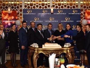 Accor Hotels 50'inci yaşını kutladı