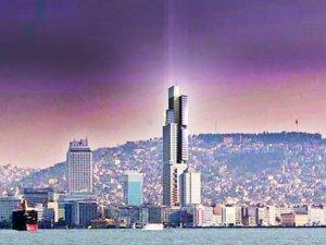 Zorlu'dan İzmir siluetine 146 metrelik hançer