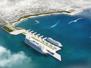 Antalya'da turistler şehre denizin altından yürüyecek