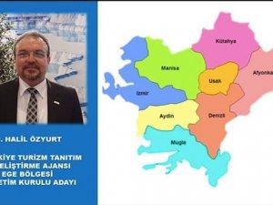 Turizm Tanıtım Ajansı için Ege'de Halil Özyurt aday oldu