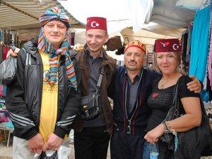 Ruslar, Almanlar gibi kış tatiline çıkmaya başladı