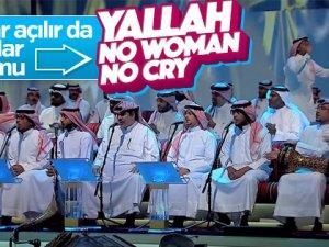 Katarlı sanatçıdan 'No Woman, No Cry' - VİDEO