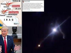 Dünya teyakkuzda! İran, ABD üslerini vurdu!