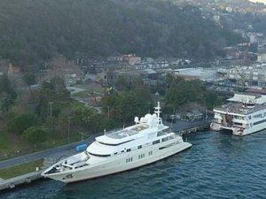 32 milyon Euro'luk yatİstanbul Boğazı'na demir attı
