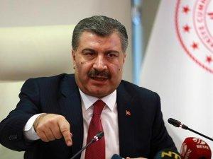 Sağlık Bakanı Fahrettin Koca: Corona virüsü vakaları 18'e çıktı