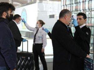 İstanbul Havalimanı'nda yolcu ve personelin ateşi ölçülmeye başlandı